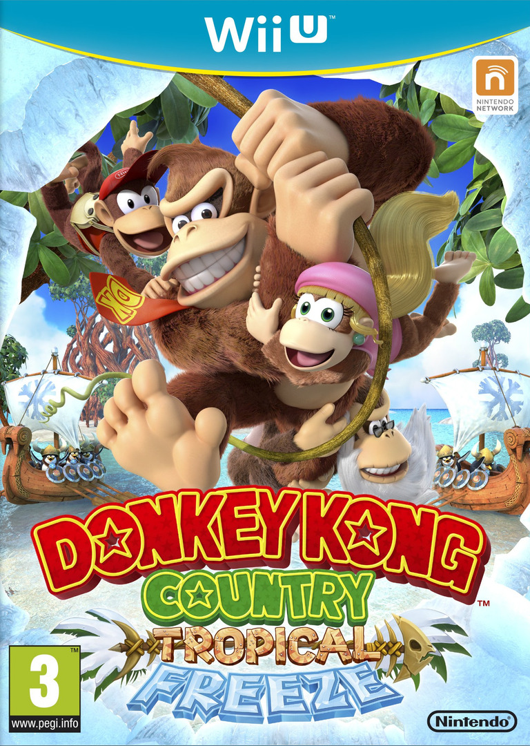Donkey Kong Country: Tropical Freeze WiiU coverHQ (ARKP01)