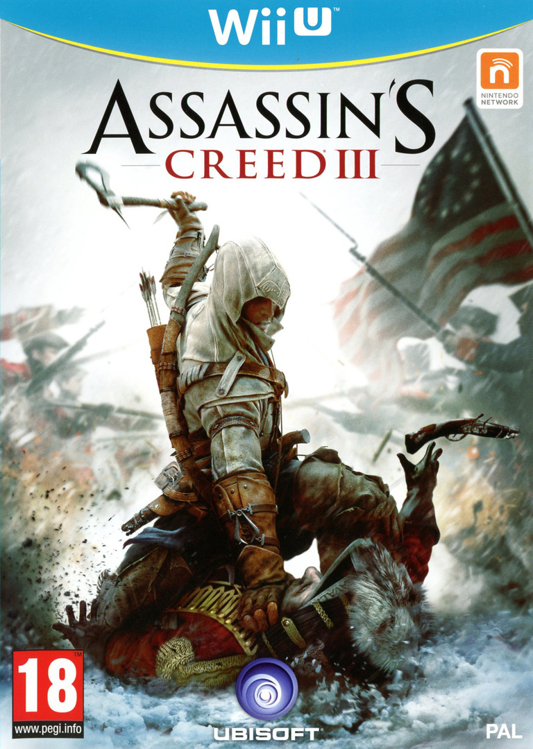 Assassin's Creed III WiiU coverHQ (ASSP41)
