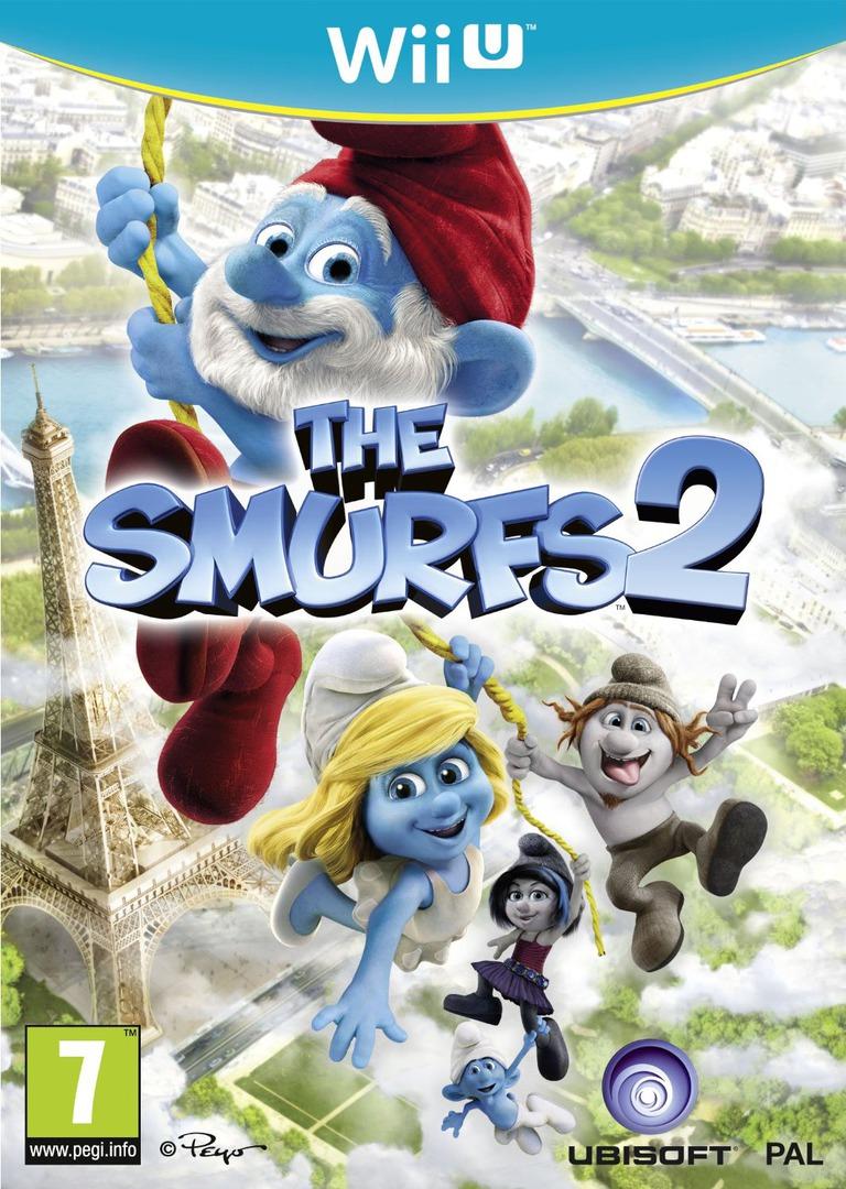 The Smurfs 2 WiiU coverHQ (ASUP41)