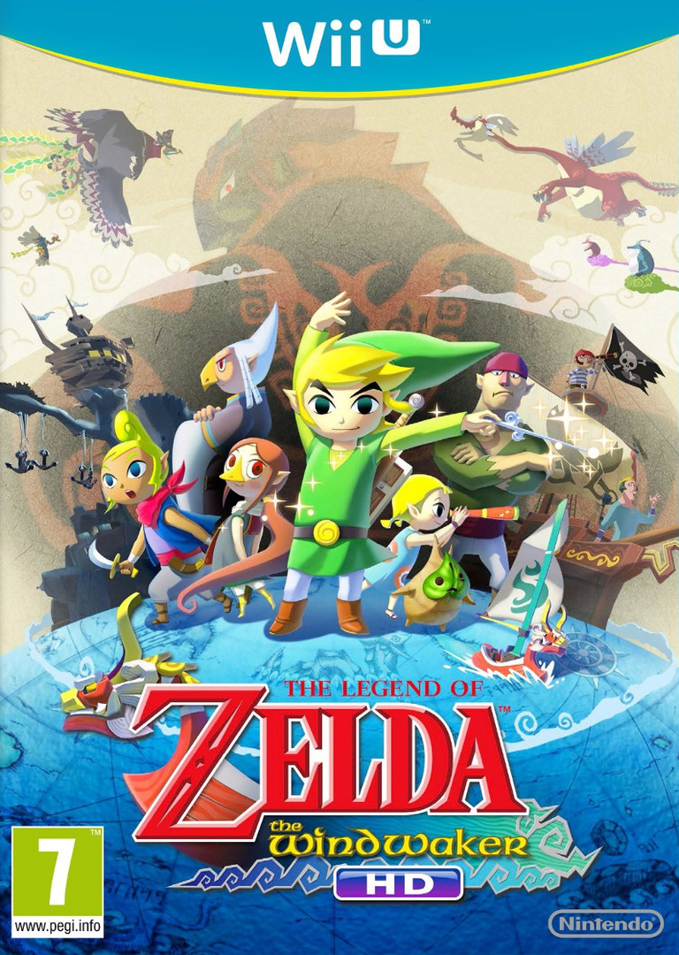 The Legend of Zelda: The Wind Waker HD WiiU coverHQ (BCZP01)