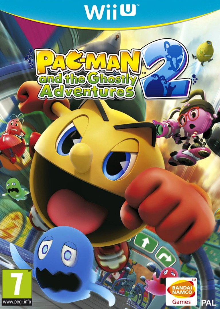 Pac-Man and the Ghostly Adventures 2 WiiU coverHQ (BPMPAF)