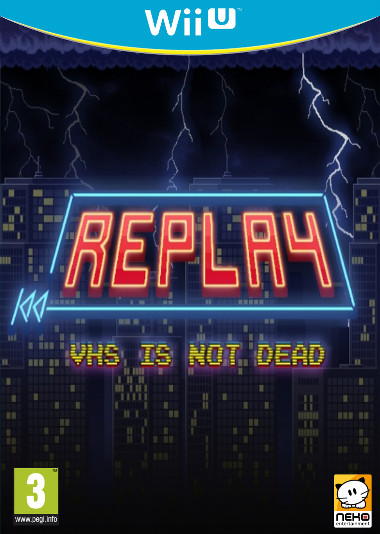 REPLAY:VHS is not dead WiiU coverHQ (BREP)