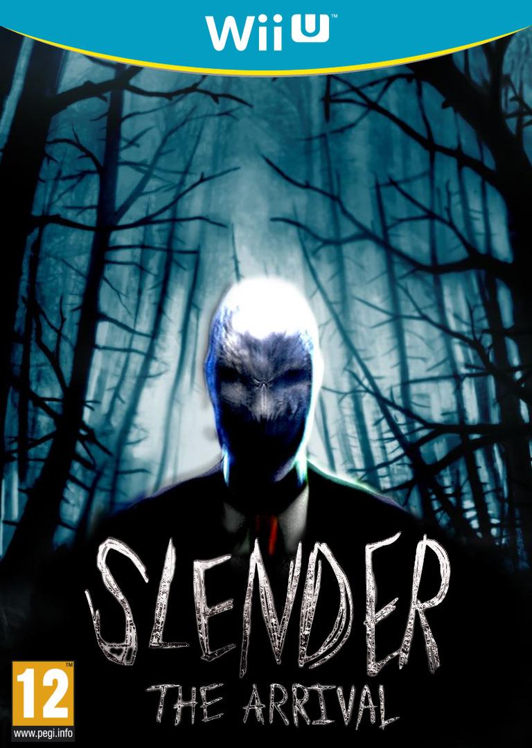 Slender: The Arrival WiiU coverHQ (BSAP)