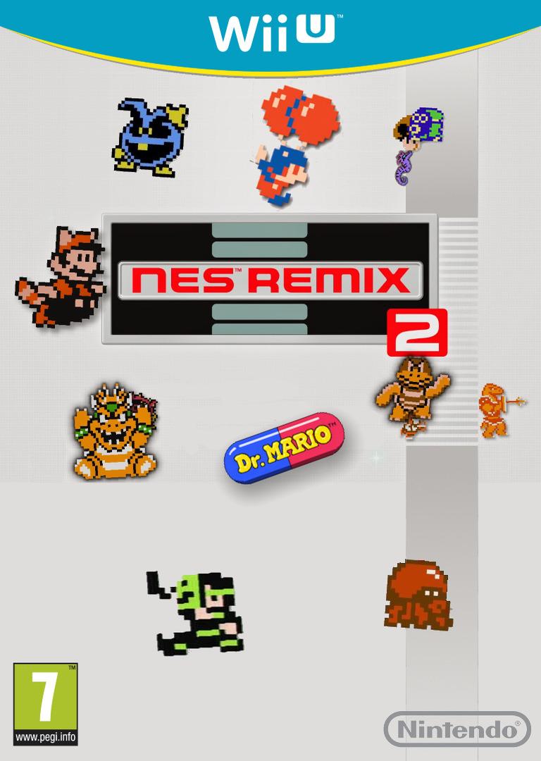 NES Remix 2 WiiU coverHQ (WF2P)