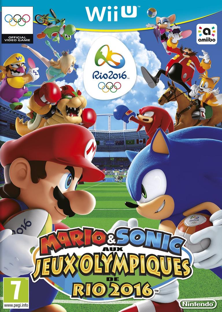 Mario & Sonic aux Jeux Olympiques de Rio 2016 WiiU coverHQ (ABJP01)
