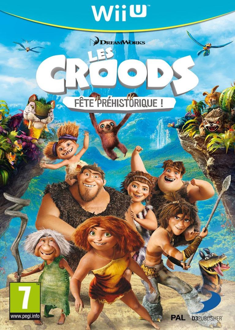 Les Croods:Fête Préhistorique ! WiiU coverHQ (ACRPAF)