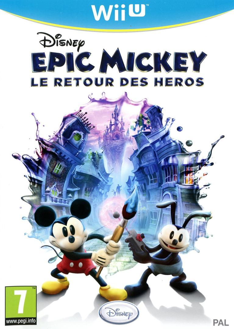 Disney Epic Mickey:Le retour des héros WiiU coverHQ (AEMP4Q)