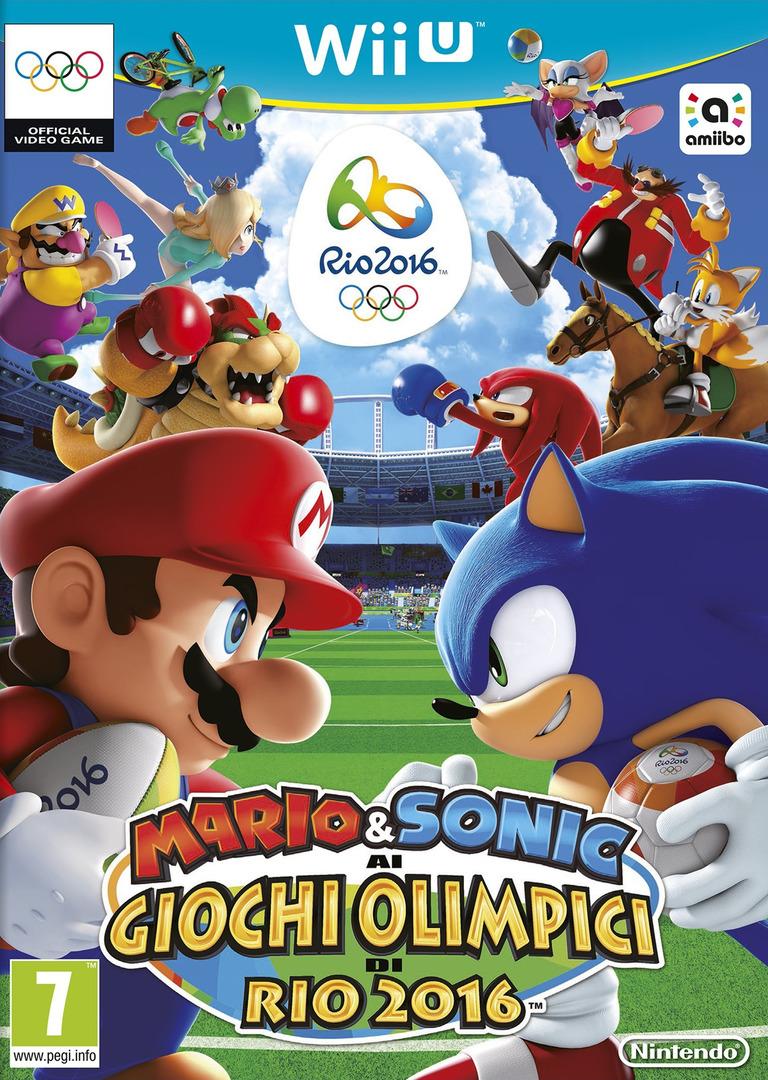 Mario & Sonic ai Giochi Olimpici di Rio 2016 WiiU coverHQ (ABJP01)