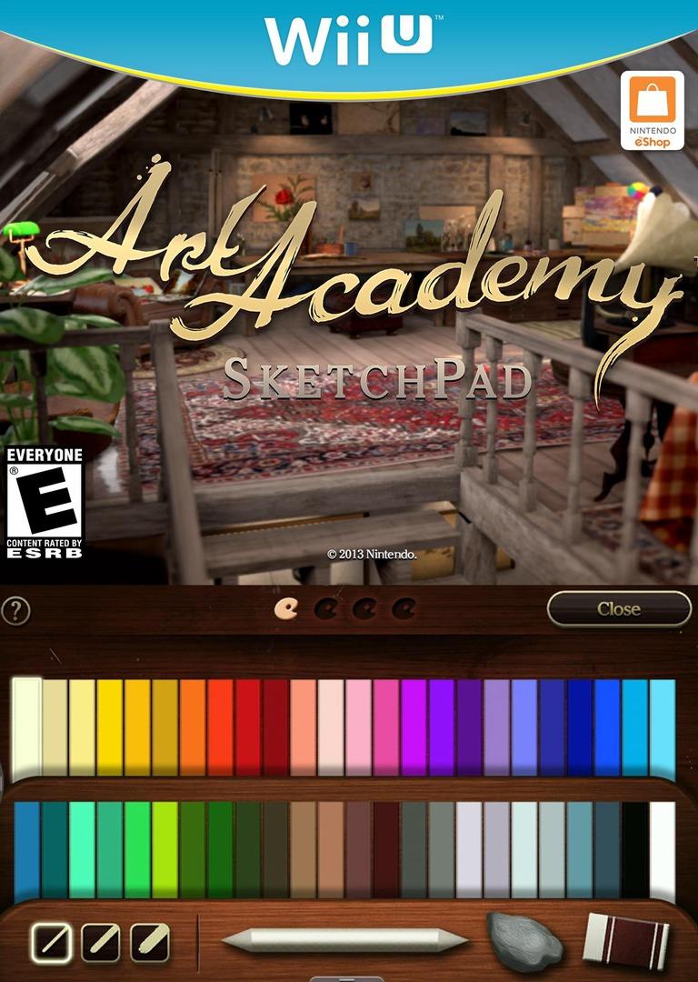 Art Academy: SketchPad WiiU coverHQ (AA9E)