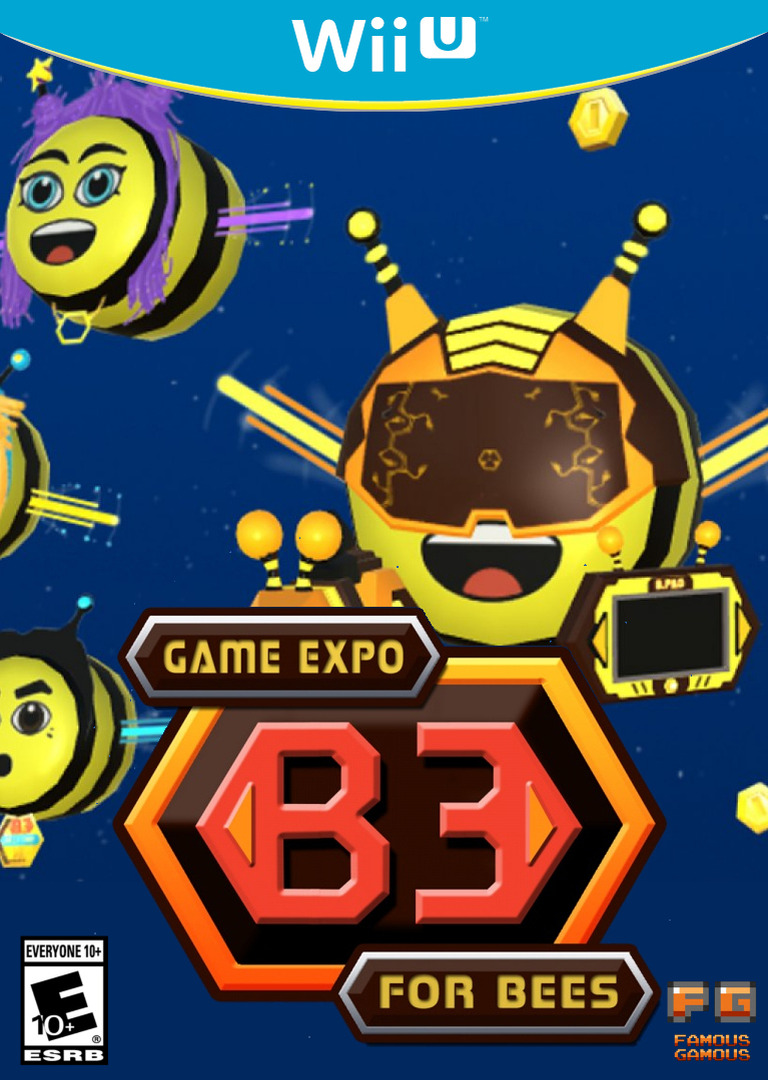 B3 Game Expo For Bees WiiU coverHQ (AB3E)