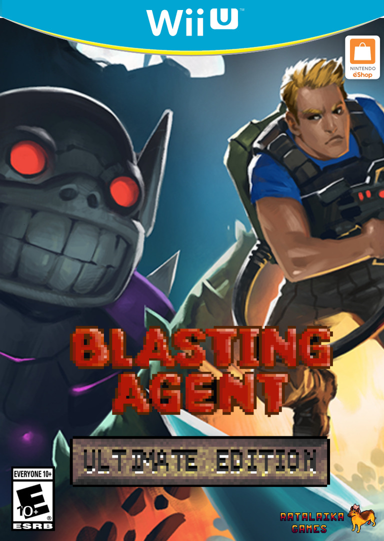 Blasting Agent: Ultimate Edition WiiU coverHQ (ABZE)