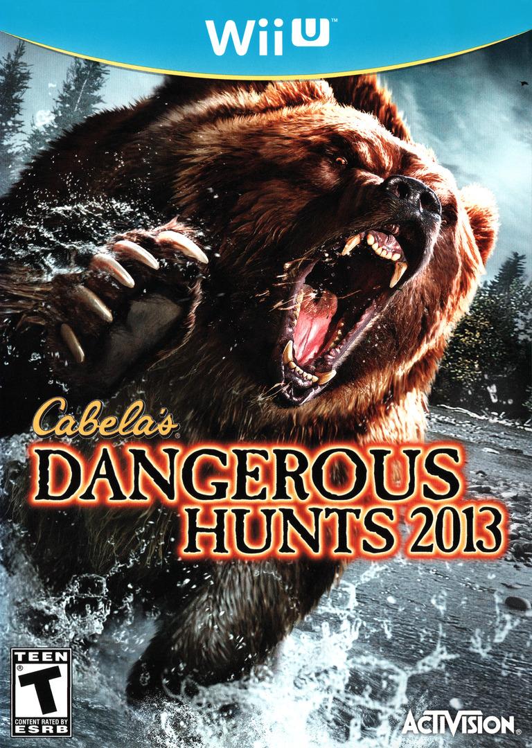 Cabela's Dangerous Hunts 2013 WiiU coverHQ (ACAE52)