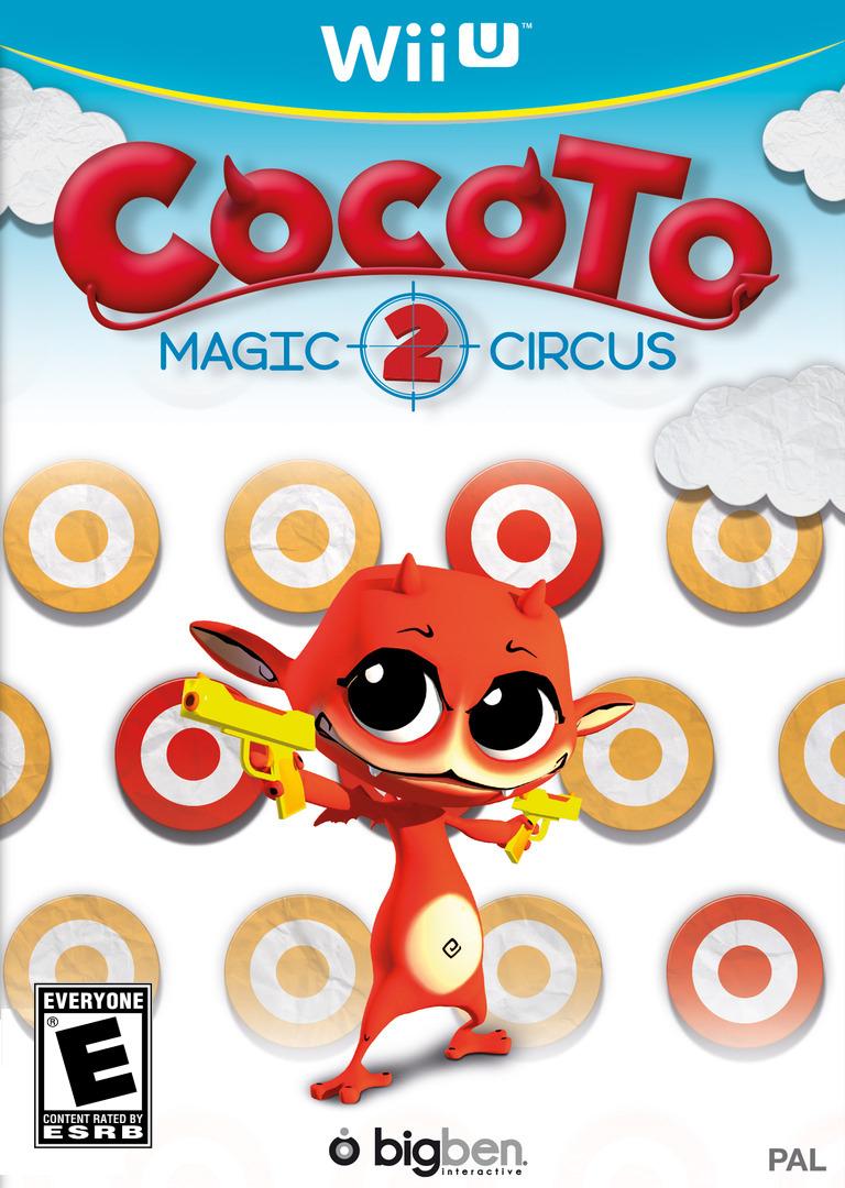 Cocoto Magic Circus 2 WiiU coverHQ (ACCE)