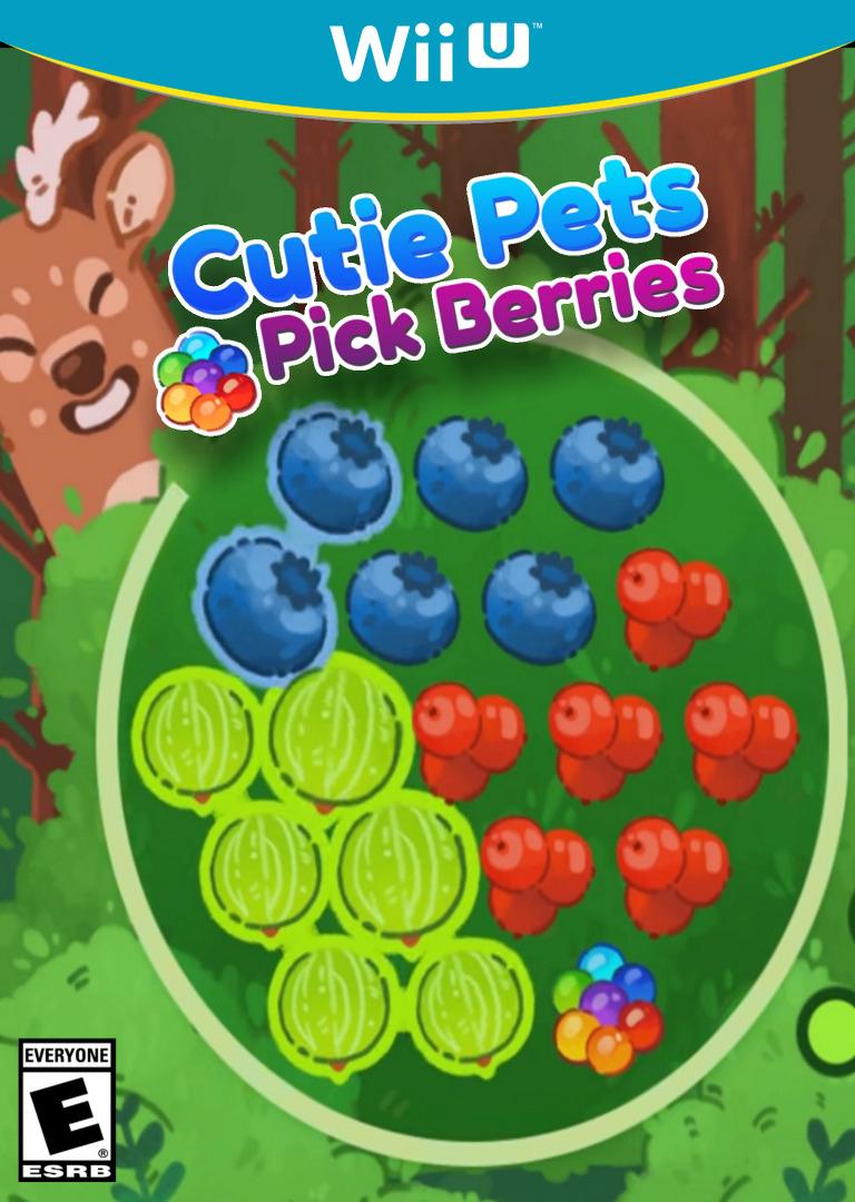 Cutie Pets Pick Berries WiiU coverHQ (ACKE)