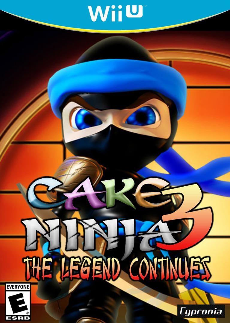 Cake Ninja 3: The Legend Continues WiiU coverHQ (ACNE)