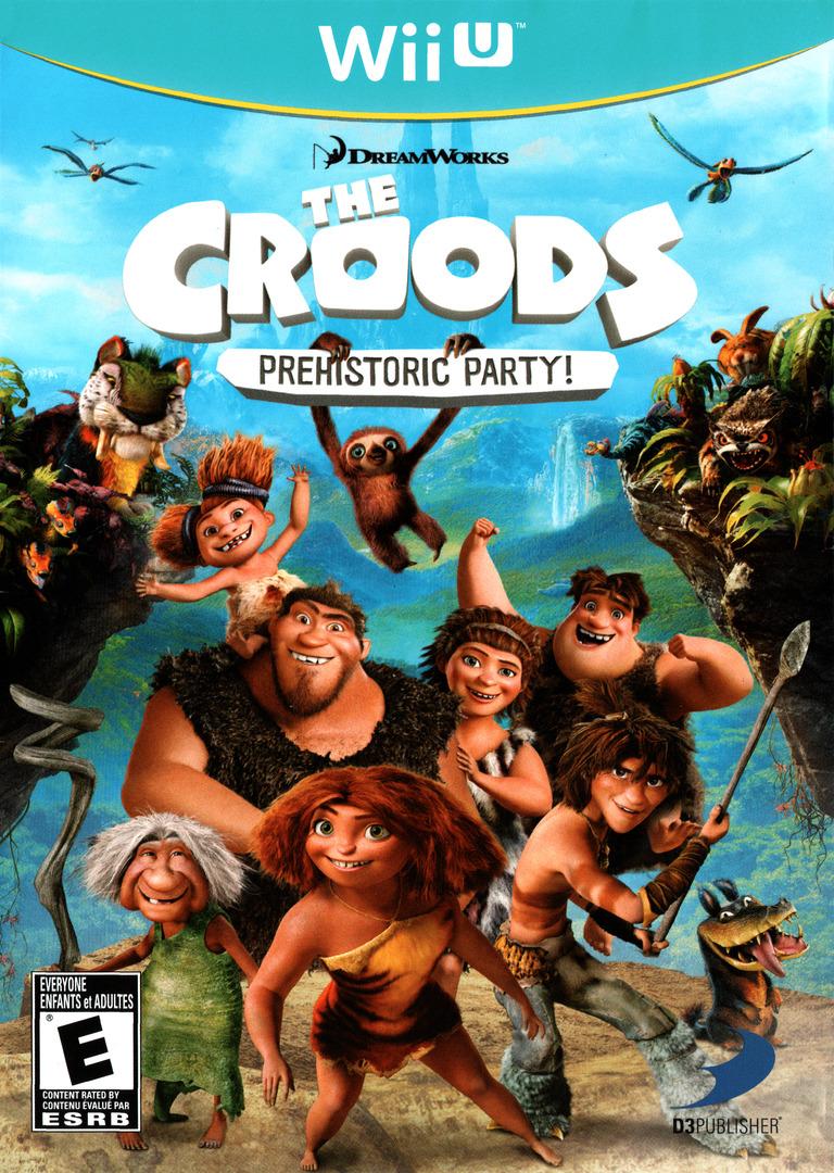 The Croods: Prehistoric Party! WiiU coverHQ (ACREG9)
