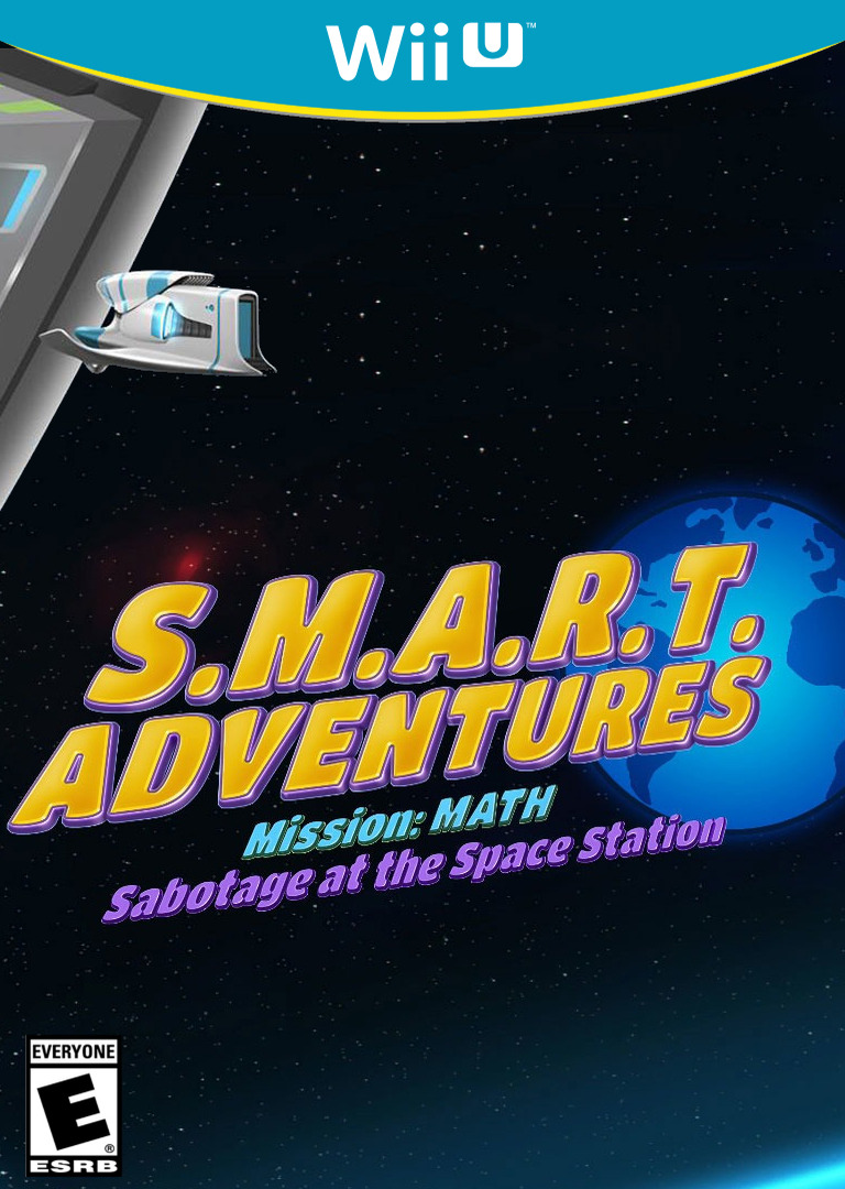 SMART Adventures Mission Math: Sabotage at the Space Station WiiU coverHQ (ADME)