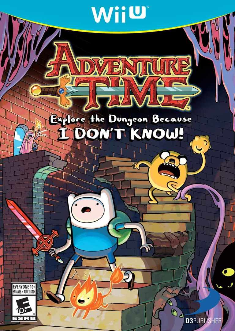 Adventure Time: Explore the Dungeon Because I DON'T KNOW! WiiU coverHQ (ADVEG9)