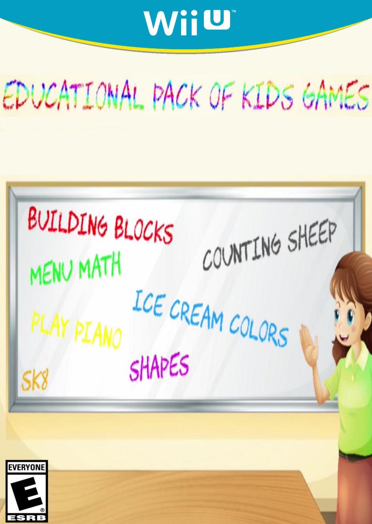 Educational Pack of Kids Games WiiU coverHQ (AE2E)