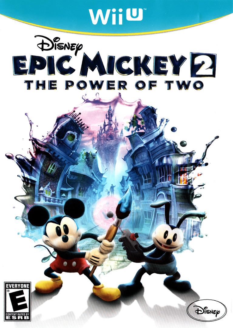 Disney Epic Mickey 2: The Power of Two WiiU coverHQ (AEME4Q)