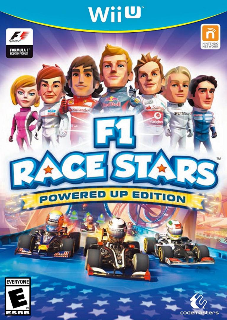 F1 Race Stars: Powered Up Edition WiiU coverHQ (AF9E)