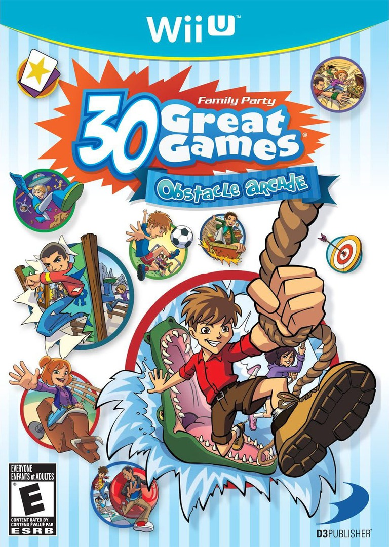Family Party: 30 Great Games Obstacle Arcade WiiU coverHQ (AFPEG9)