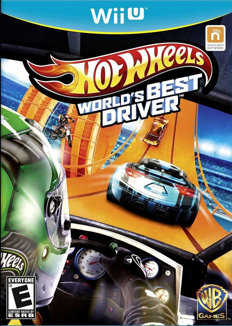 Hot Wheels: World's Best Driver WiiU coverHQ (AHWEWR)