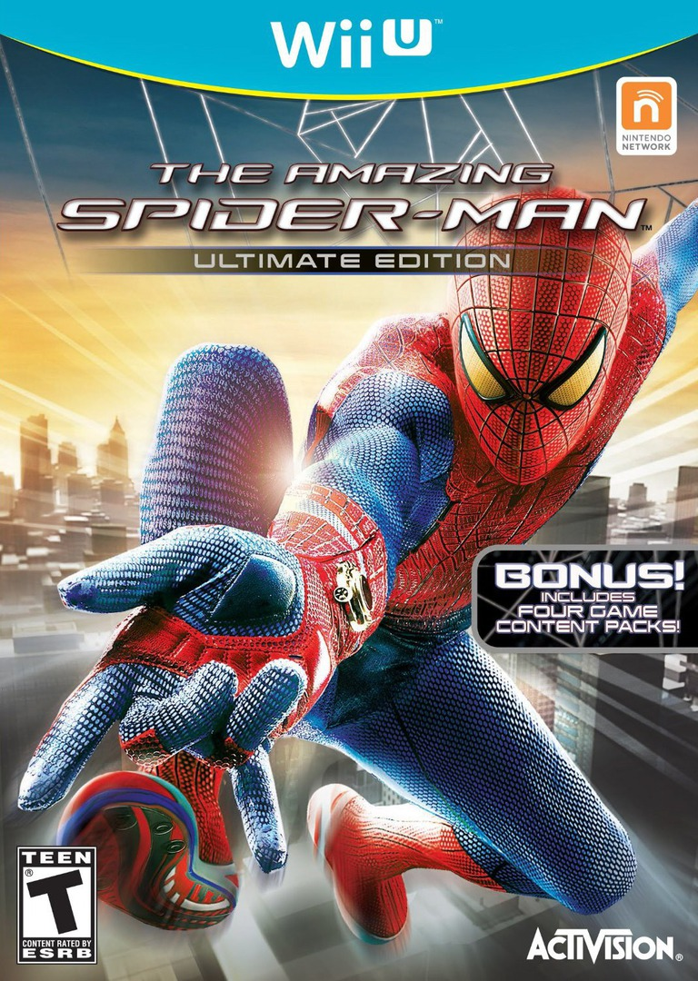The Amazing Spider-Man Ultimate Edition WiiU coverHQ (AMZE52)
