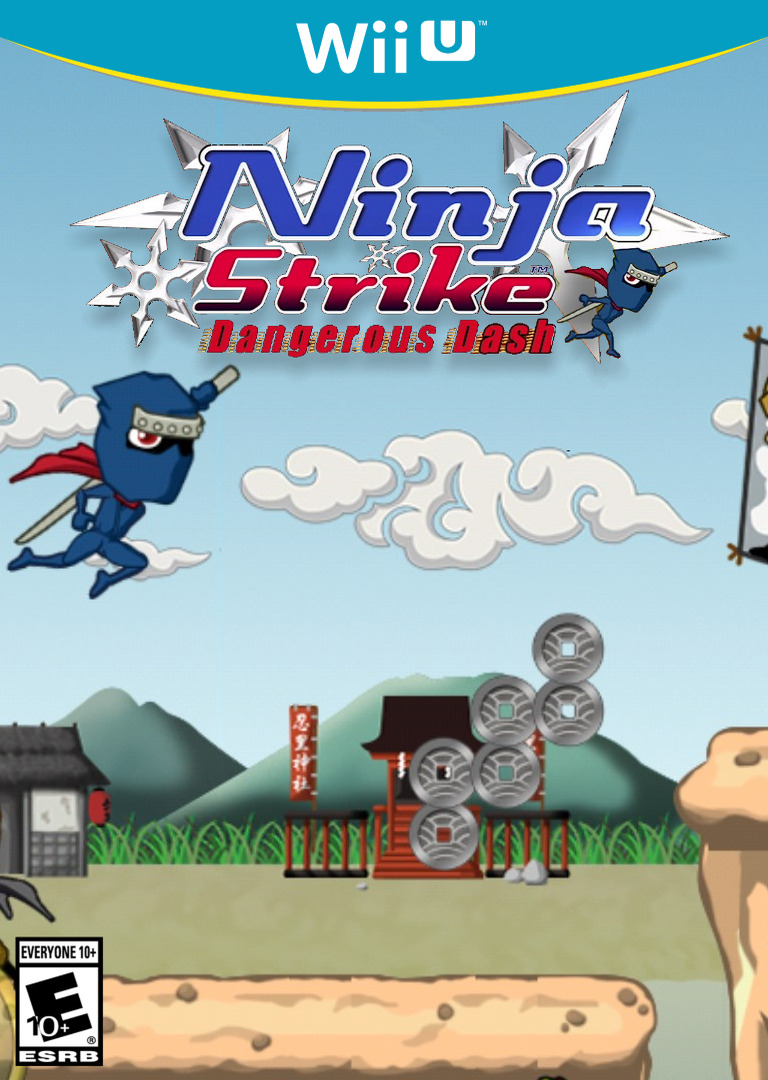 Ninja Strike: Dangerous Dash WiiU coverHQ (ANJE)