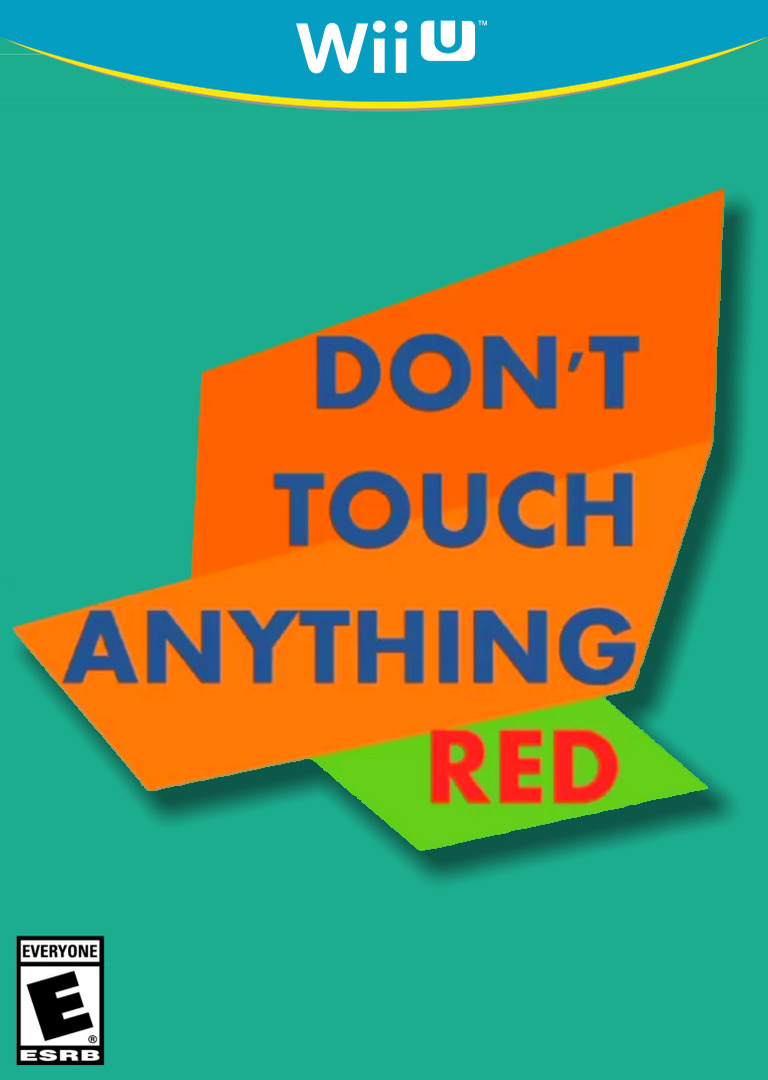 Don't Touch Anything Red WiiU coverHQ (ANTE)