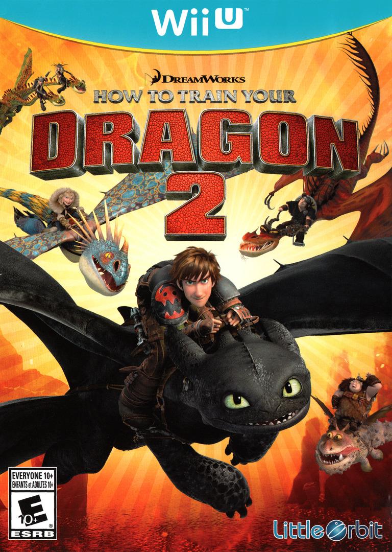 How to Train Your Dragon 2 WiiU coverHQ (ATDEVZ)