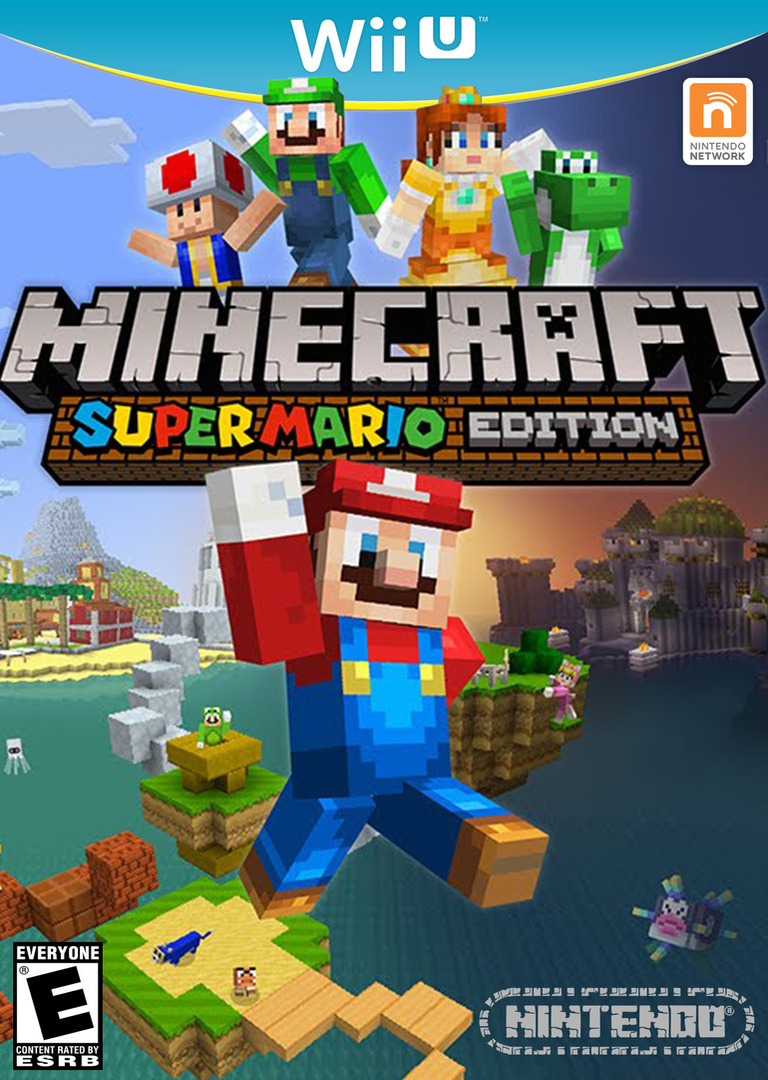 Minecraft: Super Mario Edition WiiU coverHQ (AUMED2)
