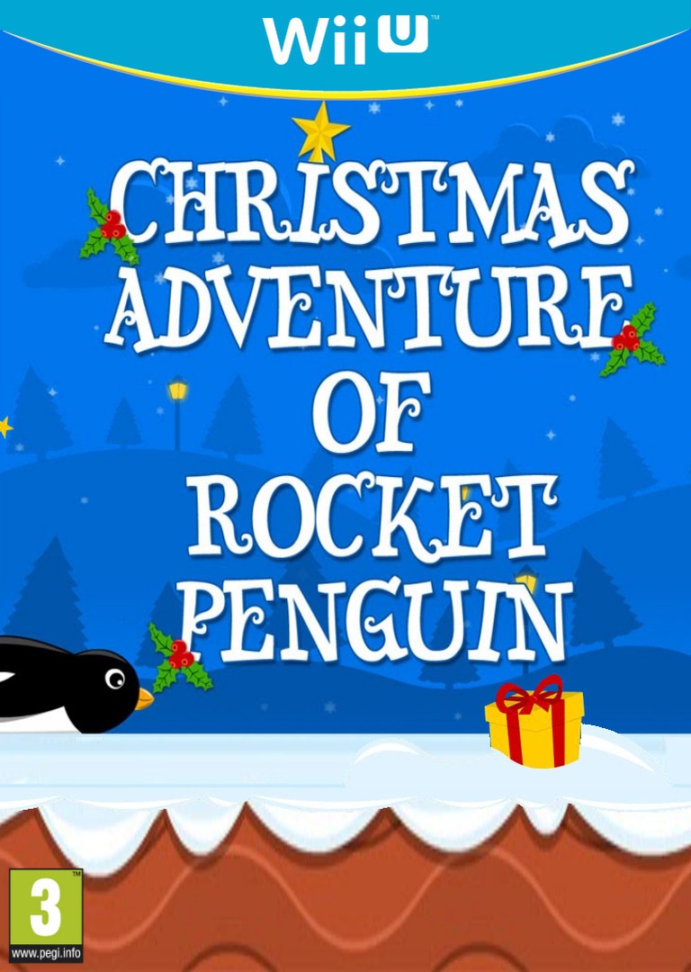 Christmas Adventure of Rocket Penguin WiiU coverHQ (BCPE)