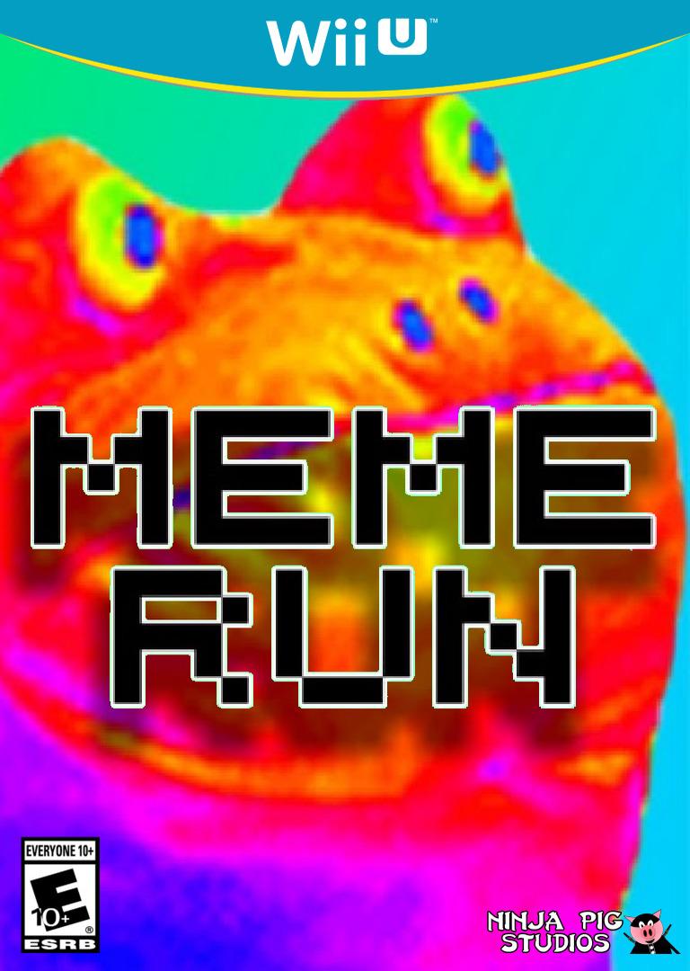 Meme Run WiiU coverHQ (BFBE)