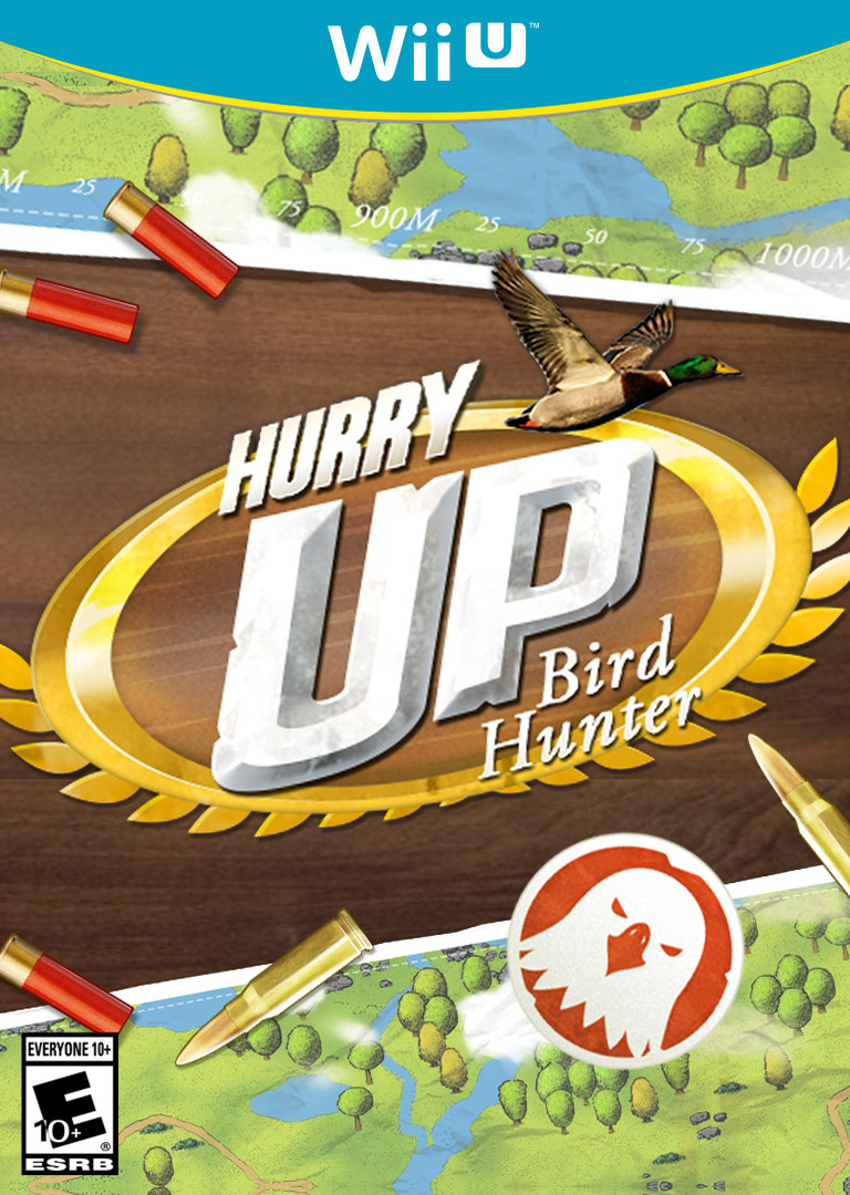Hurry Up! Bird Hunter WiiU coverHQ (BHBE)