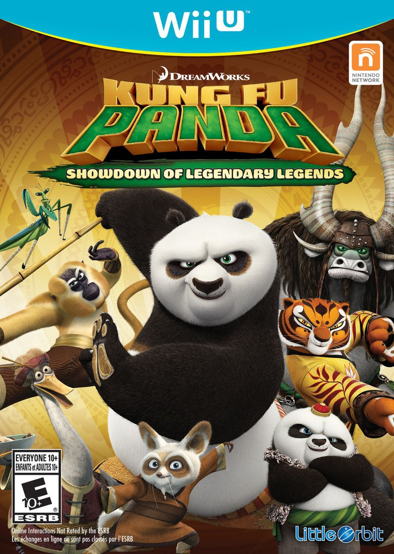 Kung Fu Panda: Showdown of Legendary Legends WiiU coverHQ (BKFEVZ)