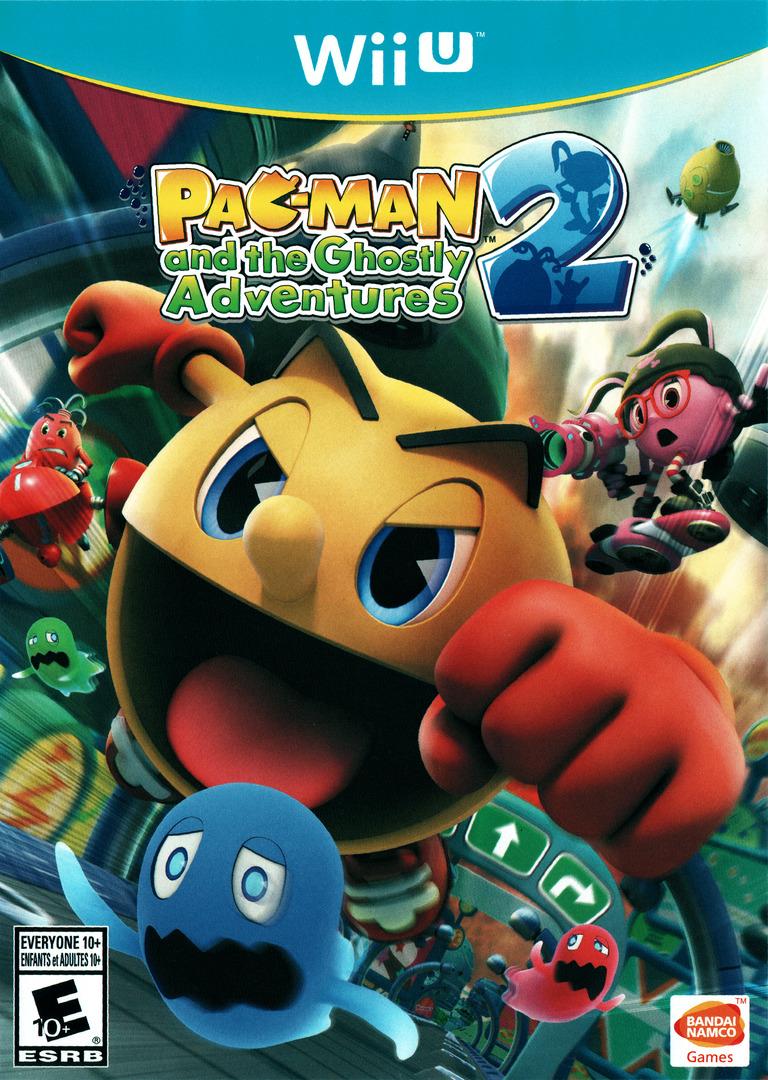 Pac-Man and the Ghostly Adventures 2 WiiU coverHQ (BPMEAF)