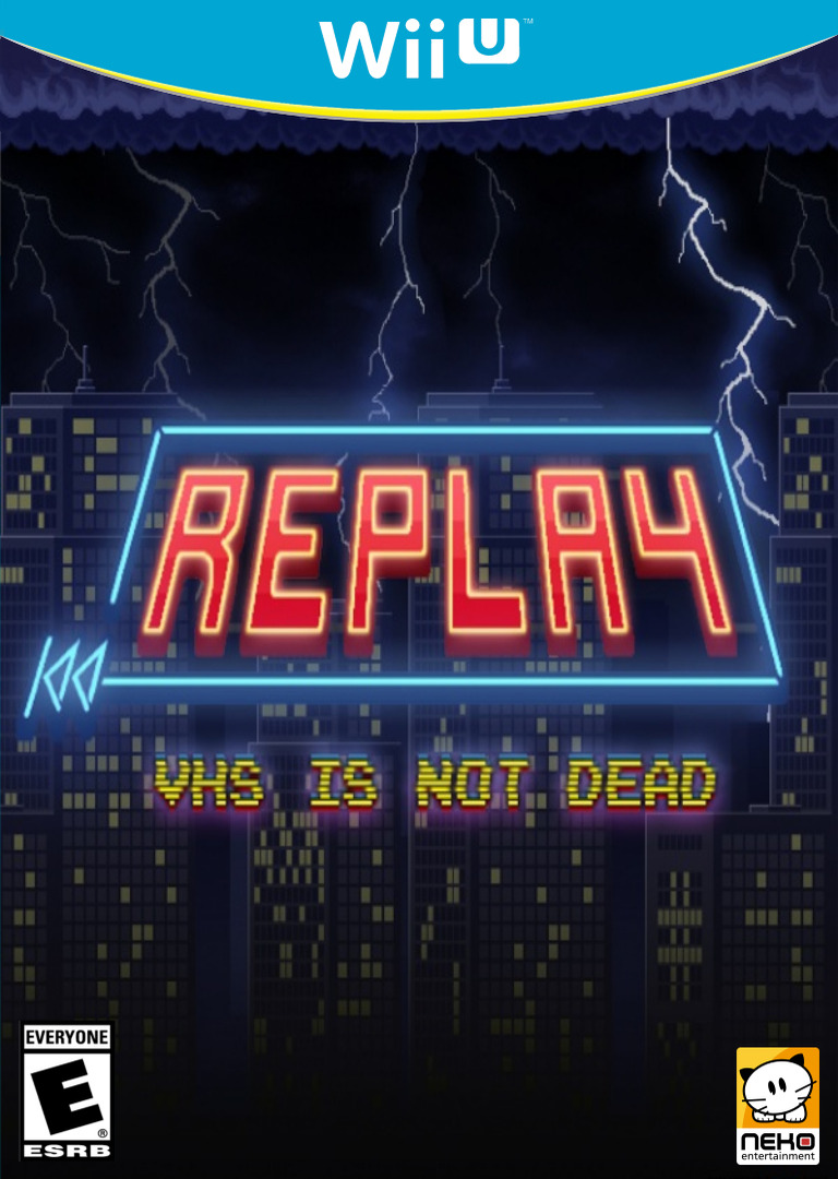 REPLAY : VHS is not dead WiiU coverHQ (BREE)