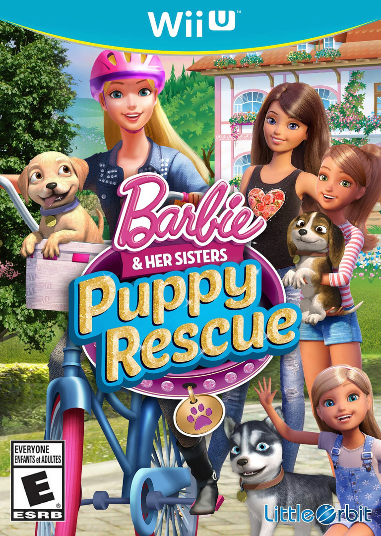 Barbie and Her Sisters: Puppy Rescue WiiU coverHQ (BRQEVZ)