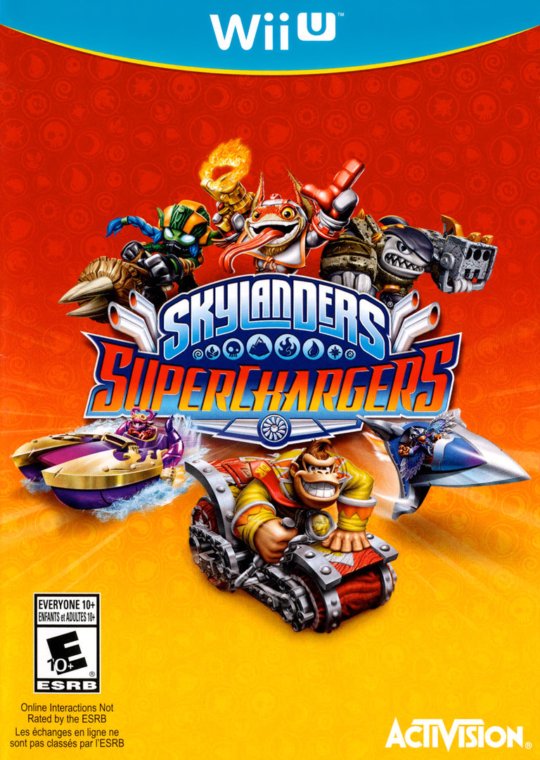 Skylanders: SuperChargers WiiU coverHQ (BS5E52)