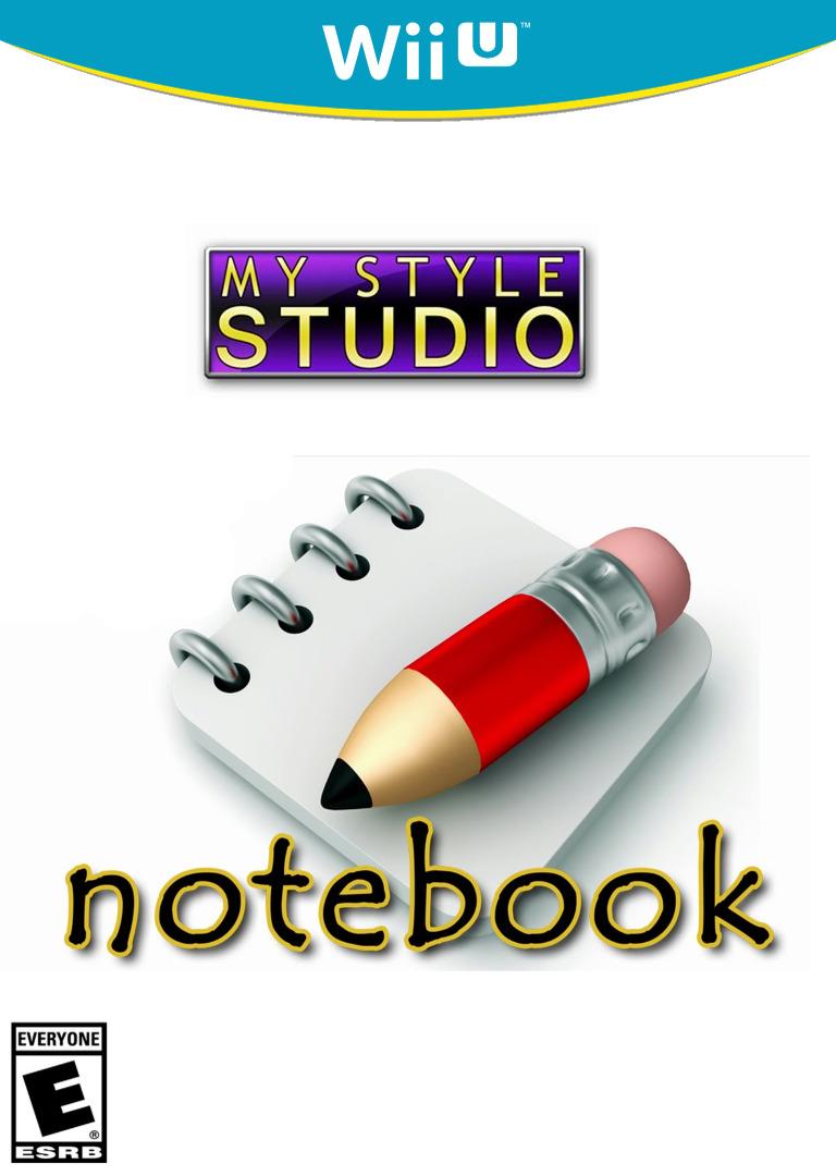 My Style Studio: Notebook WiiU coverHQ (WBKE)
