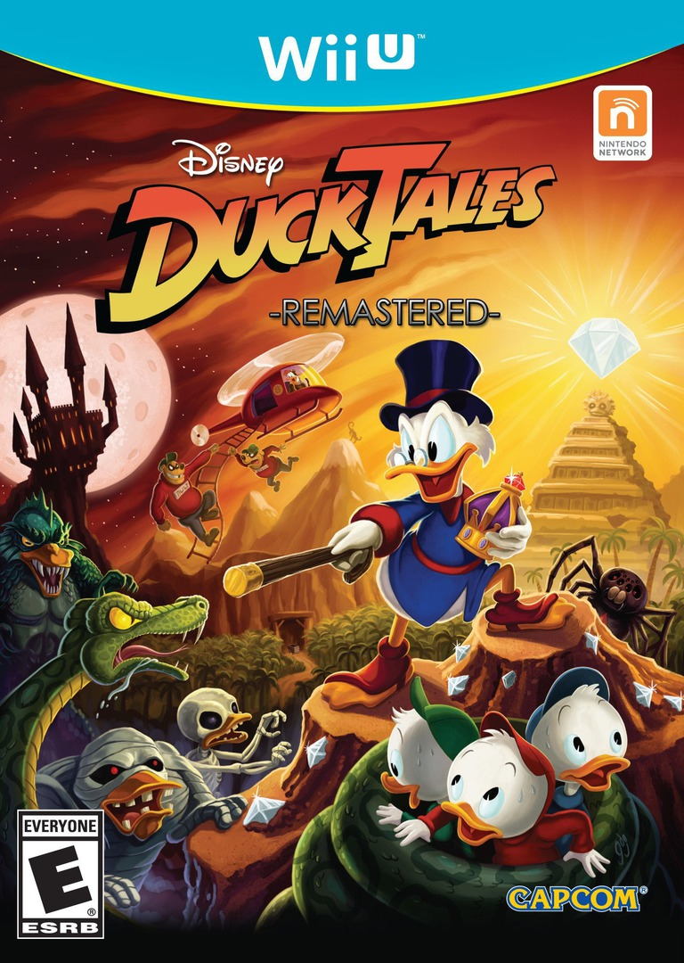 DuckTales: Remastered WiiU coverHQ (WDKE08)