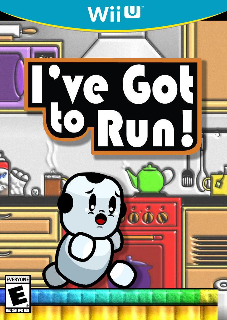 I've Got to Run! WiiU coverHQ (WGTE)