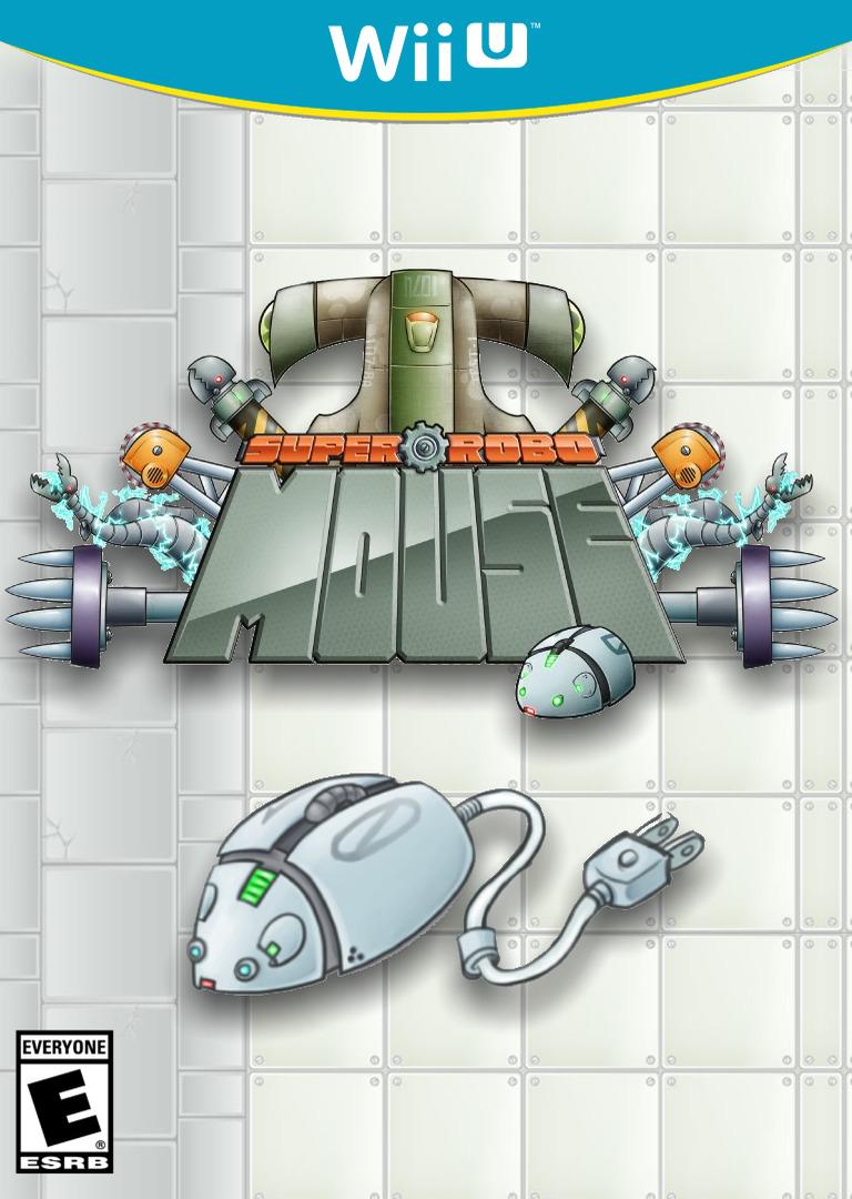 SUPER ROBO MOUSE WiiU coverHQ (WMWE)