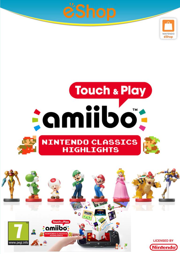 amiibo Touch & Play: Nintendo Classics Highlights WiiU coverHQ2 (AAVP)