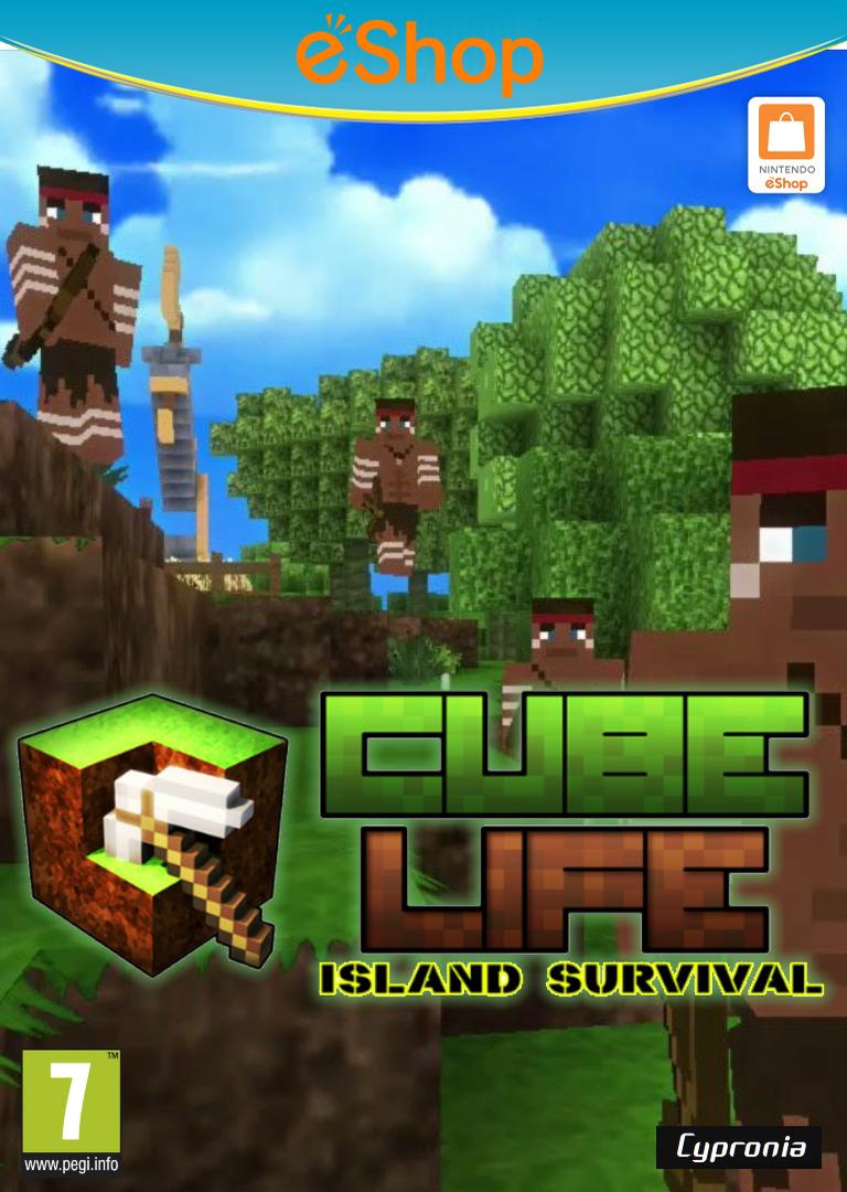 Cube Life Island Survival WiiU coverHQ2 (ACUP)