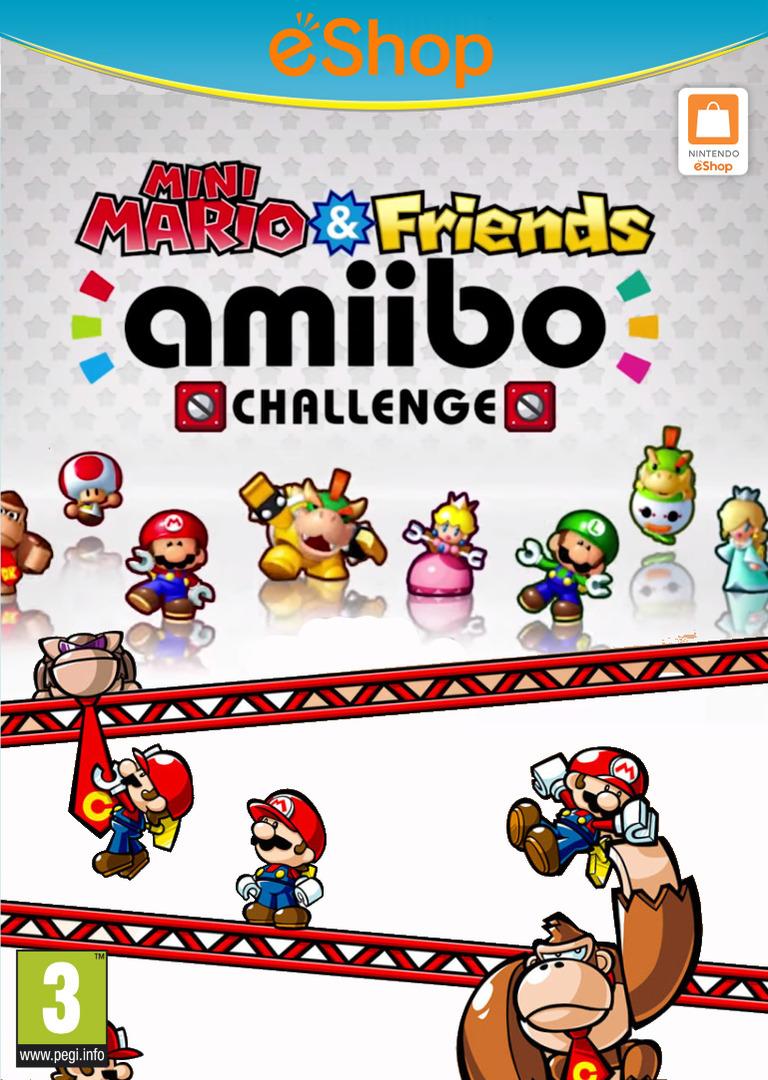 Mini Mario & Friends: amiibo Challenge WiiU coverHQ2 (AP5P)