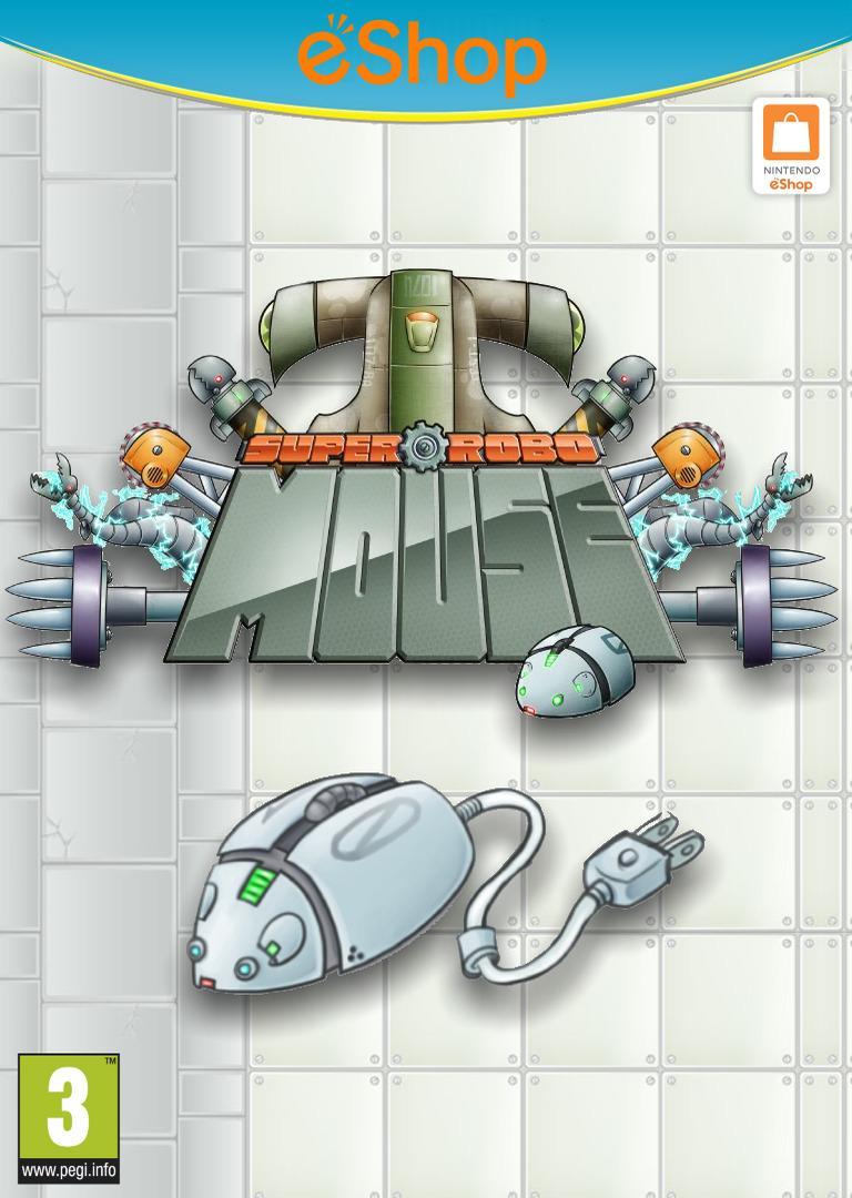 SUPER ROBO MOUSE WiiU coverHQ2 (WMWP)