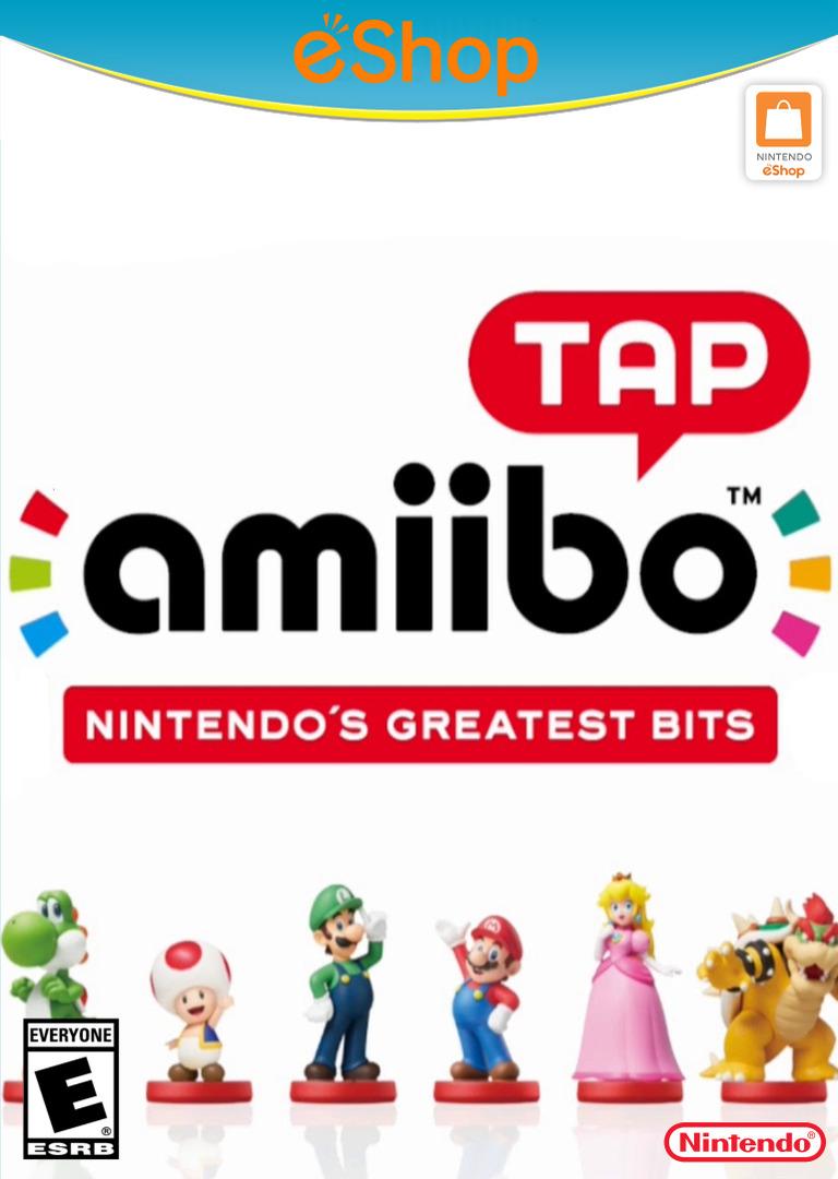 amiibo tap: Nintendo's Greatest Bits WiiU coverHQ2 (AAVE)