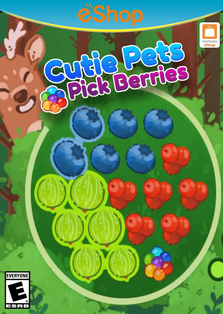 Cutie Pets Pick Berries WiiU coverHQ2 (ACKE)
